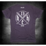 "T-shirt ""Baseball bats""-ash black-"