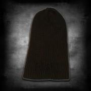 "Beanie olive Logo ""hate & kill"""